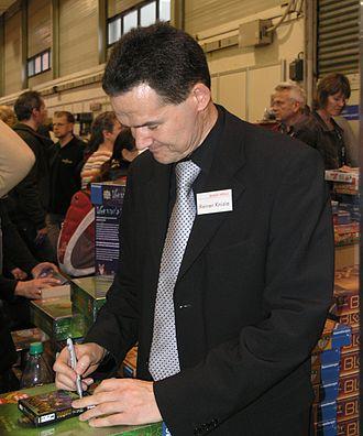 Reiner Knizia - Knizia at Essen 2008