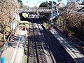 Estación Turdera - Puente y tendido eléctrico, vista general.JPG
