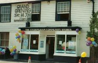 Etchingham - Opening day of the Community Stores