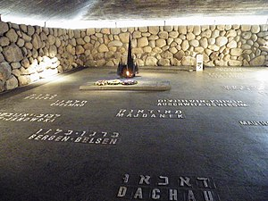 The names of the concentration and death camps...