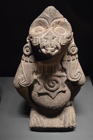 Acolhua - Ethécatl, the Acolhua God of Wind, Musée du quai Branly