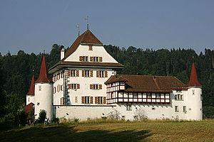Ettiswil - Schloss Wyher near Ettiswil