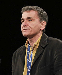 Euclid Tsakalotos Greek economist and politician