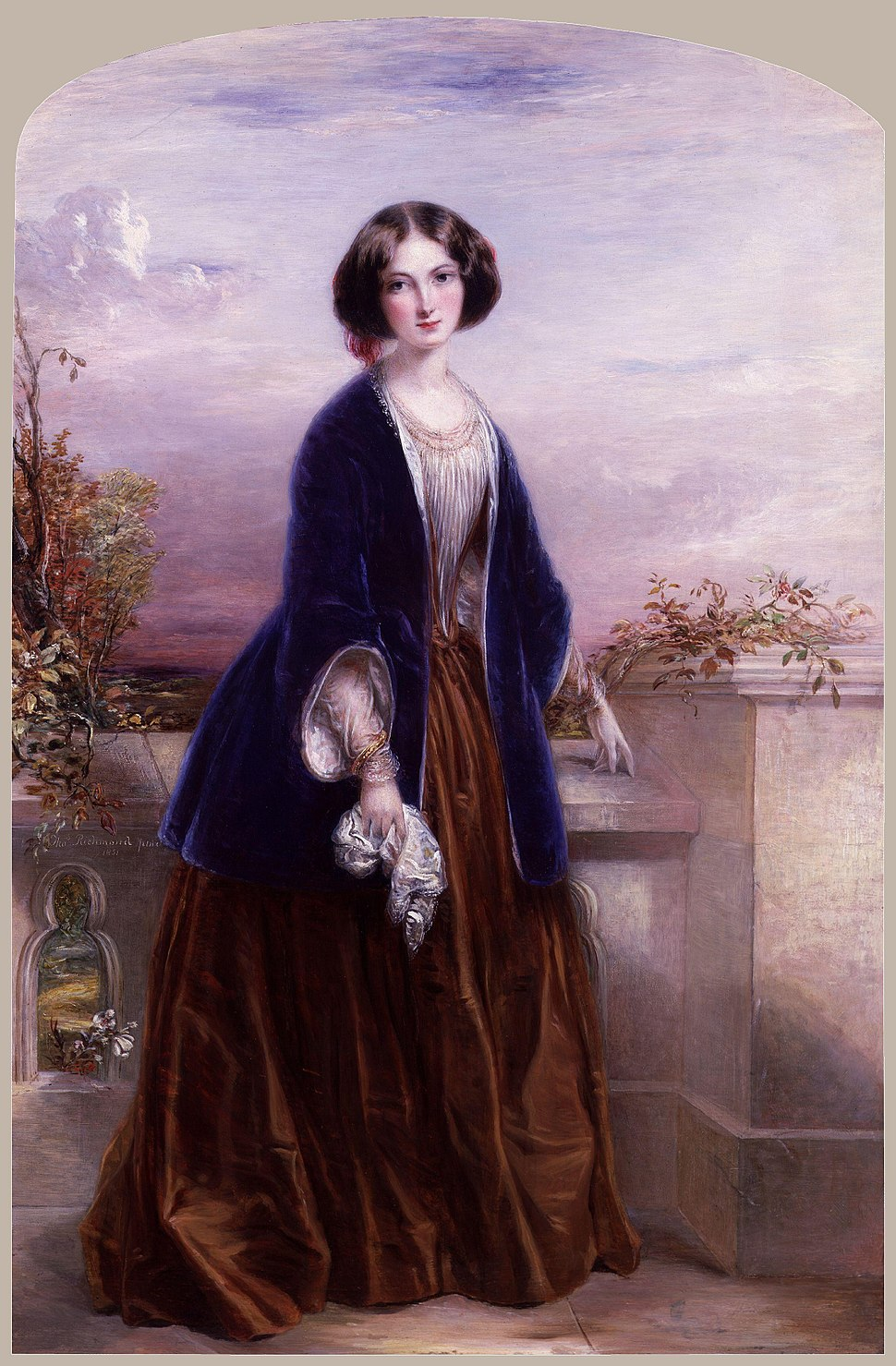 Euphemia ('Effie') Chalmers (née Gray), Lady Millais by Thomas Richmond