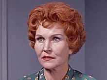 "McVeagh, a Hitchcock favorite, as Georgia in ""Incident at a Corner"" (1960)"