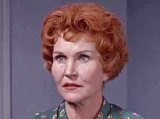 "Eve McVeagh - McVeagh, a Hitchcock favorite, as Georgia in ""Incident at a Corner"" (1960)"