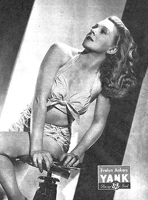 Richard Denning - Denning's wife Evelyn Ankers