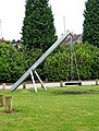 Exercise equipment at Springfield Park - geograph.org.uk - 1324172.jpg