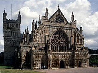 Archibald Boyd - Cathedral Church of Saint Peter at Exeter where Boyd served as Dean.