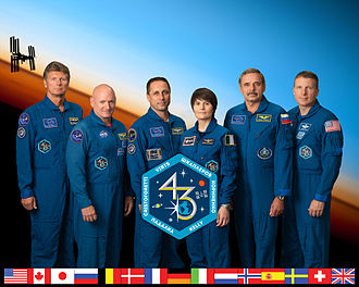 Expedition 43 - Image: Expedition 43 crew portrait