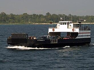 Washington Island (Wisconsin) - Image: Eyrarbakki Ferry