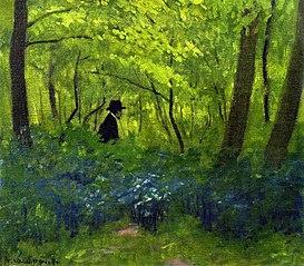 Le satyre dans le Bois de Boulogne