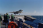F-14A of VF-14 after wave-off over USS JF Kennedy (CV-67) 1975.JPEG