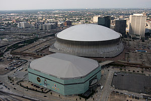 Smoothie King Center - Image: FEMA 37671 Aerial of repaired Super Dome in New Orleans, Louisiana