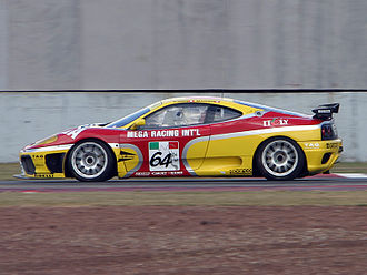 Matthew Marsh (racing driver) - Matthew Marsh and Charles Kwan's Ferrari 360C at Zhuhai.