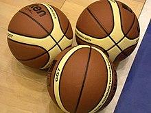 Palloni ufficiali della FIBA.