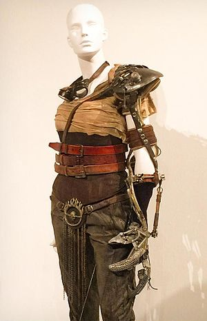 Mad Max: Fury Road - Charlize Theron's costume for her character, Imperator Furiosa.