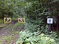 FLT L2 4.6 mi - Access I signs, start of Genesee Valley Greenway - panoramio.jpg