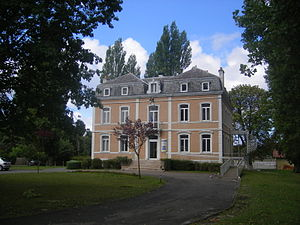 Lit-et-Mixe - The town hall in Lit-et-Mixe
