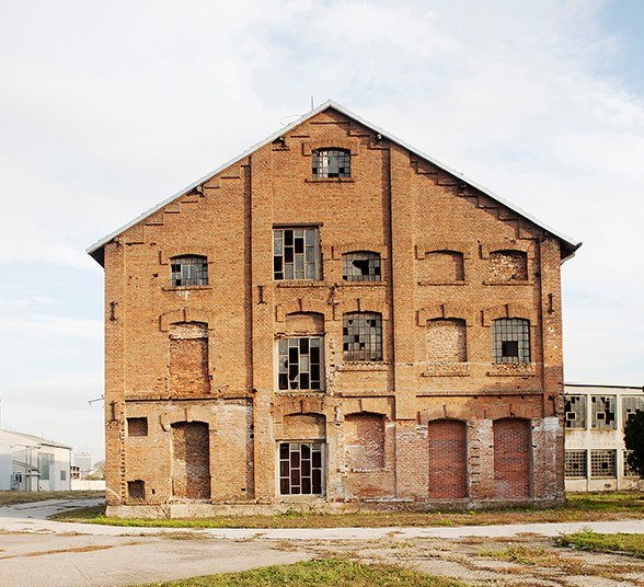 Fabrika kože u Nišu, izgled zgrade 02