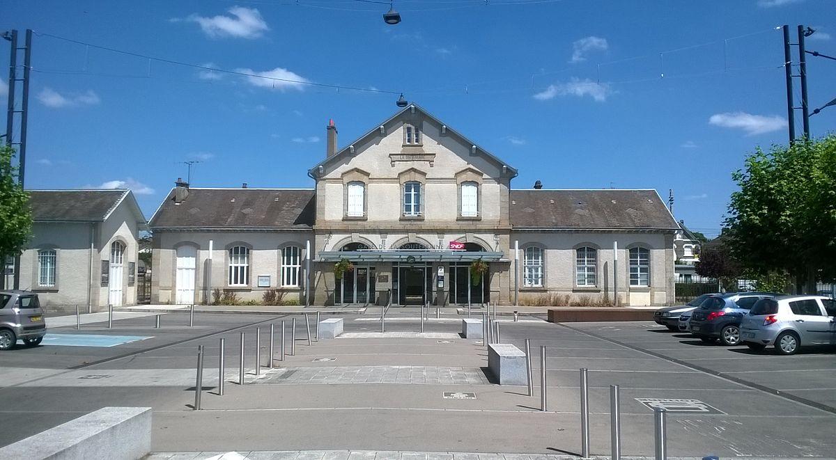 Gare de la souterraine wikip dia for Piscine d argenton sur creuse
