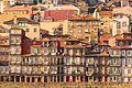 Fachada de Oporto, Portugal (25579039474).jpg