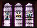 Faedo, chiesa del Santissimo Redentore, interno - Vetrate 01.jpg