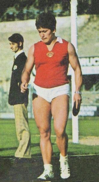 Faina Melnik - Faina Melnik at the 1972 Olympics