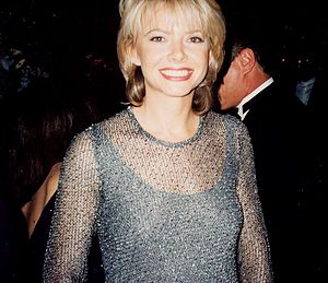 Photo of Faith Ford at the Emmy Awards.