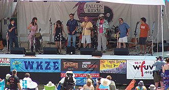 Falcon Ridge Folk Festival - Image: Falcon Ridge Folk Festival Main Stage 2004