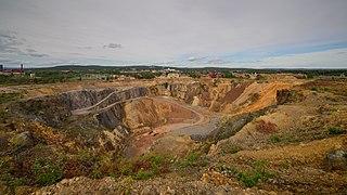 Falun Mine mining community