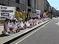 Falung Gong Protest in London 2006 2.JPG