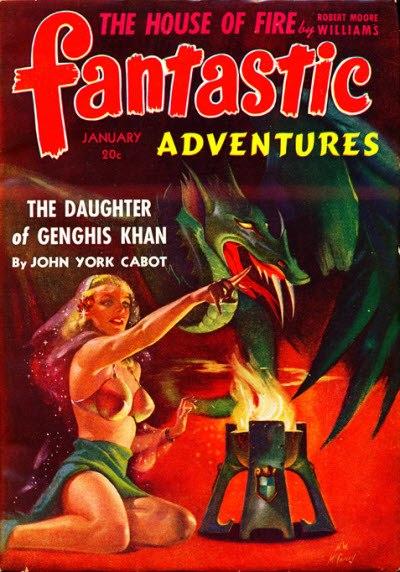 Fantastic adventures 194201