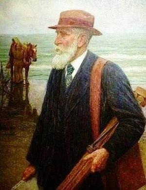 Edgard Farasyn - Self-portrait (date unknown)