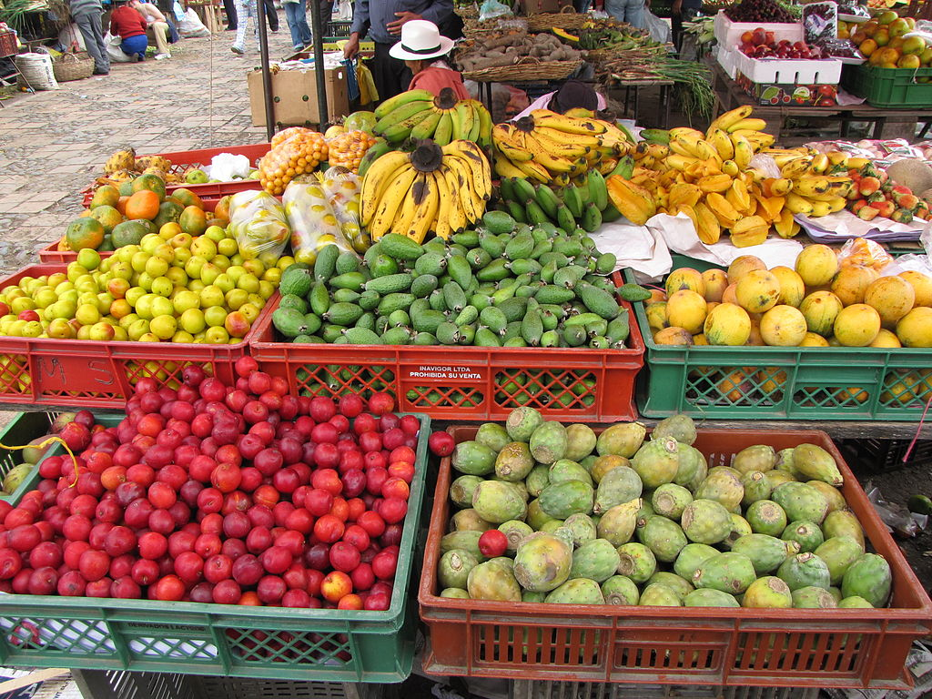 Colorful fruit in Colombia - 8 Best Medellin Tours for Visitors