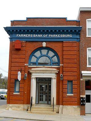 Parkesburg, Pennsylvania - Image: Farmers Bank of Parkesburg Chesco PA