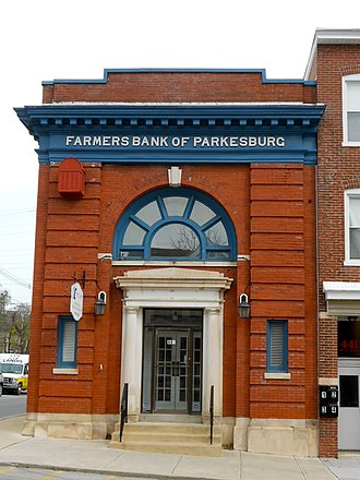 Parkesburg, Pennsylvania - Image: Farmers Bank of Parkesburg Chesco PA