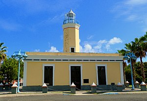 National Register of Historic Places listings in eastern Puerto Rico - Image: Faro de Punta de las Figuras north Arroyo Puerto Rico
