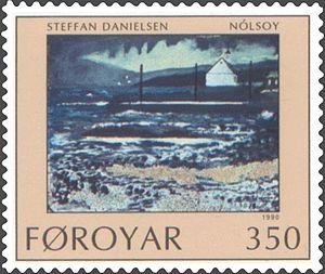 Nólsoy - Image: Faroe stamp 202 steffan danielsen nolsoy