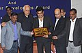 "Farooq Abdullah gave away the ""Certificate of Appreciation"" and Trophies to Solar Power Developers for their best performance, at a function, in New Delhi on September 25, 2013 (1).jpg"
