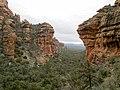 Fay Canyon Trail, Sedona, Arizona, Yavapai County - panoramio (1).jpg