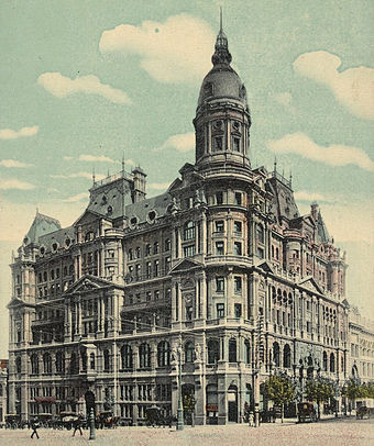 Federal Coffee Palace, one of many grand hotels erected during the boom Federal Coffee Palace Melbourne.jpg