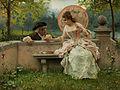 Federico Andreotti Ein verliebtes Gespräch im Park.jpg