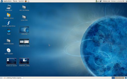 Fedora 10 Desktop