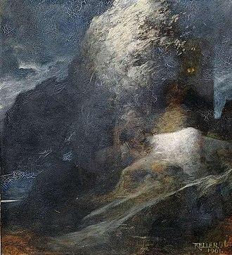 Ferdinand Keller (painter) - Image: Ferdinand Keller Insel der Toten (1901)