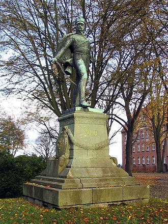 Ferdinand von Schill - Ferdinand von Schill – Monument in Stralsund