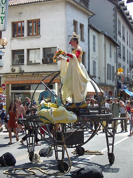 Festival of Street theatre at Aurillac Festival 2005 (2).JPG