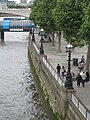 Festival Pier and the Embankment from the Jubilee footbridge - geograph.org.uk - 882264.jpg