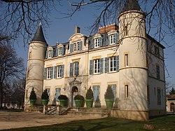 Le château de Feyzin.