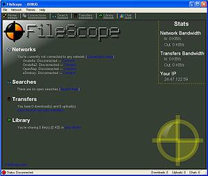 FileScope - Image: File Scope Screenshot 1